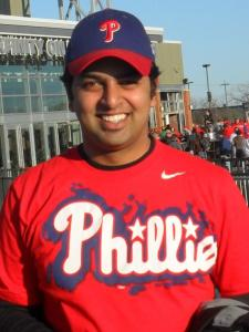 Vinayak M. for tutoring lessons in Philadelphia PA