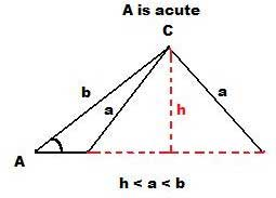 Law of Sines via SSA - acute angles