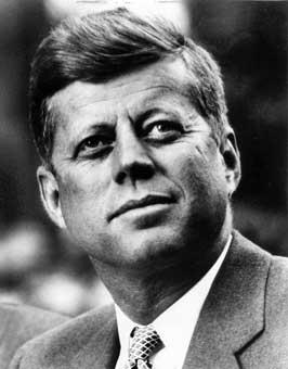 John F Kennedy Presidential Portrait