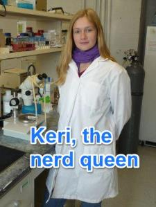 Keri K. - Science and Math Nerd At Your Service!