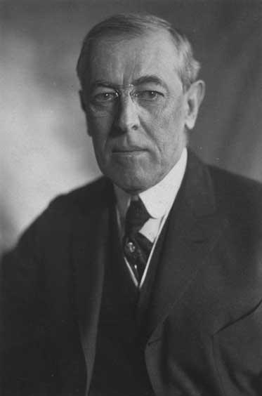 Woodrow Wilson photograph