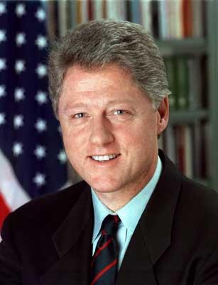 President Bill Clinton photo