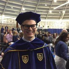 Tyler S. - Law school graduate with a criminal justice background