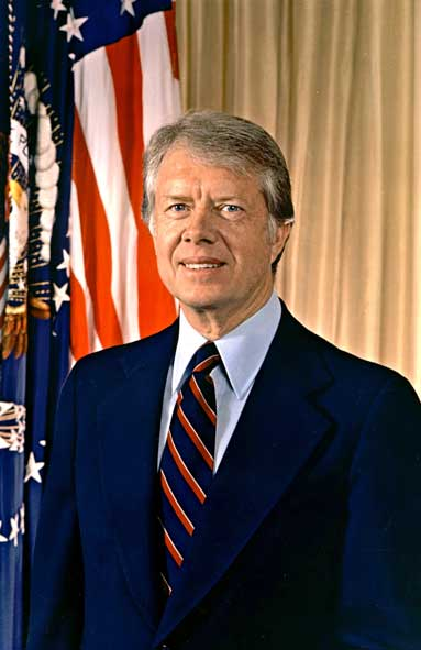 Jimmy Carter profile photograph