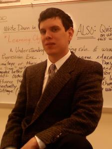 Daren E. - Young and Professional History Tutor