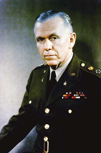 George Marshall in uniform