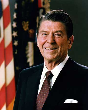 Ronald Reagan Presidential Photo