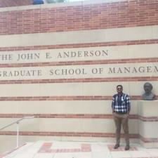 Aman J. - UCLA Anderson Masters student!