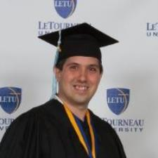 Zachary Z. - LeTourneau University honors graduate in education