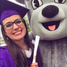 Emily G. - Hi! I recently received my Master of Arts in Teaching from JMU!