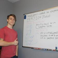 Dylan R. - Hey! I'm an aspiring math professor!