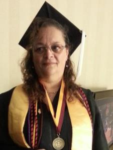 Barbara R. - Masters in Higher Ed;enjoy students' faces lighting up with success